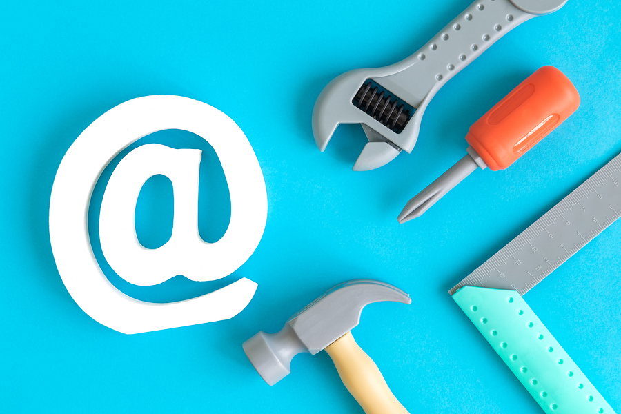 Email Marketing Tools Concept