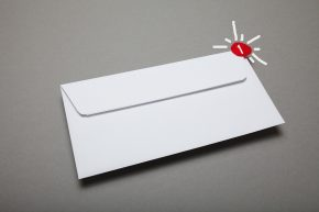 Traditional mail with email newsletter notification