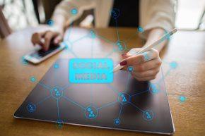 Social media across devices