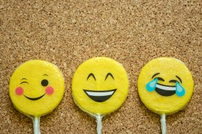 Emojis in Lollipop Form