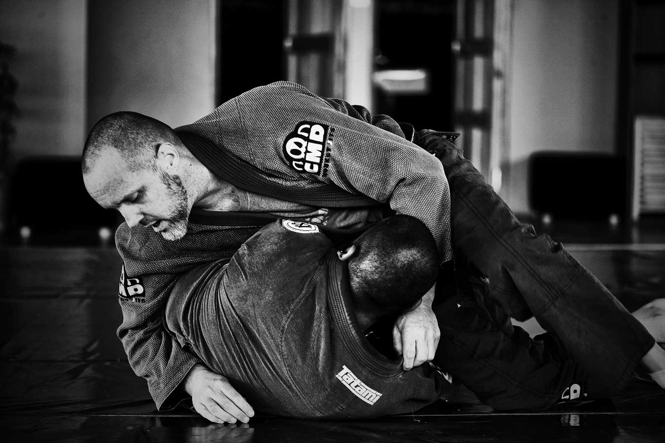 Just A Guy Doing Jiu-Jitsu