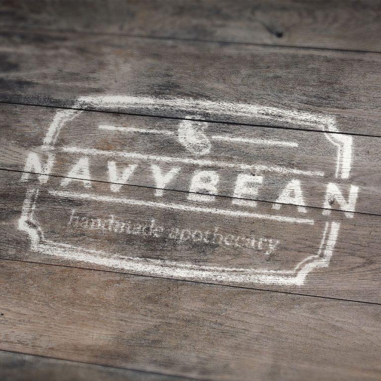 Navy Bean Handmade Apothecary Branding & Package Design