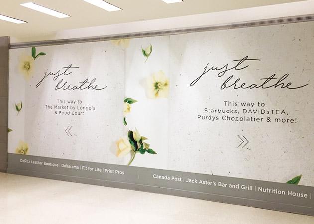 Hudson's Bay Centre Shopper Engagement