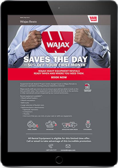 wajax digital ad