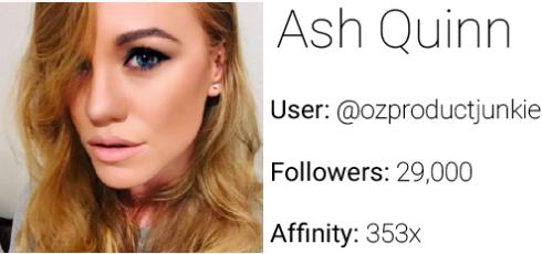 Affinio Ash Quinn
