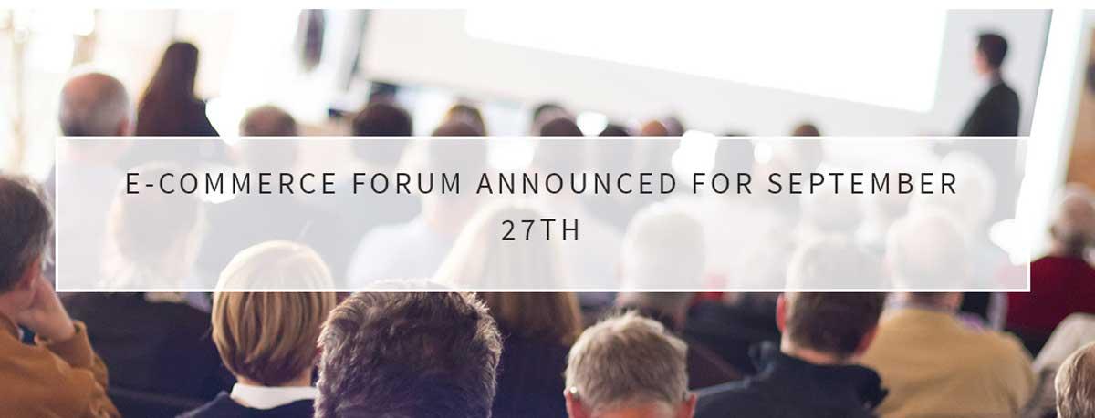 Ecommerce forum 2016