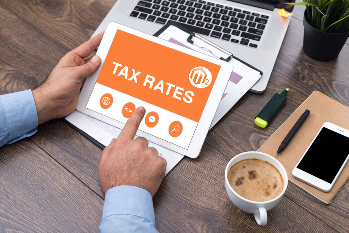 tax rates in magento 2