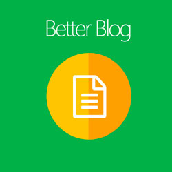 Better Blog Extension