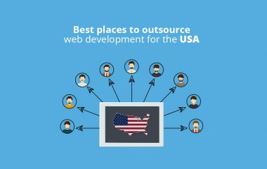 Where outsource web development USA