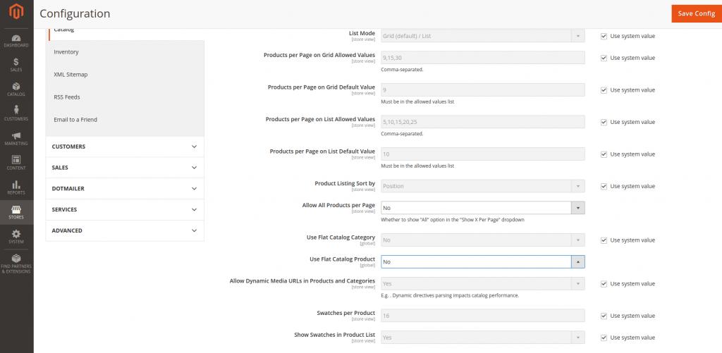 Magento 2 database optimization