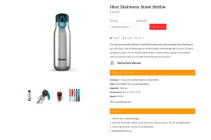 powerful product page