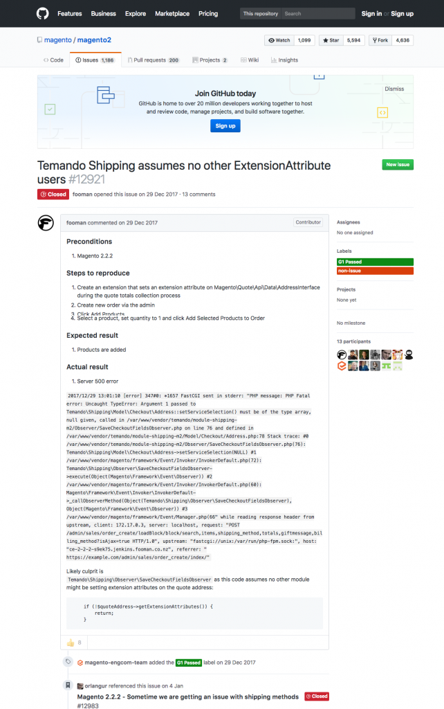 Fixing Magento 2 Checkout Issues with Magento 2 Extension Attributes