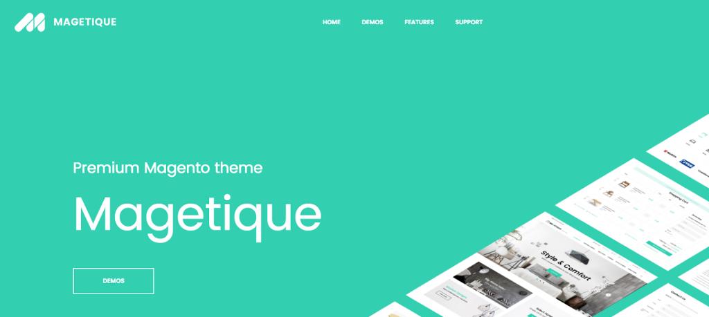 Magetique Premium Magento Theme
