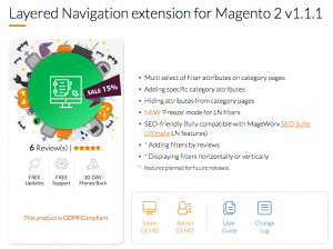 Layered Navigation by Mageworx