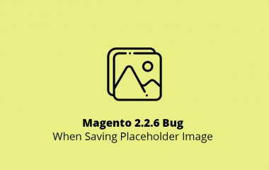 Magento 2.2.6 Bug When Saving Placeholder Image