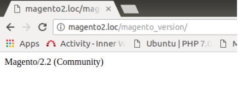 Check Magento 2 Version
