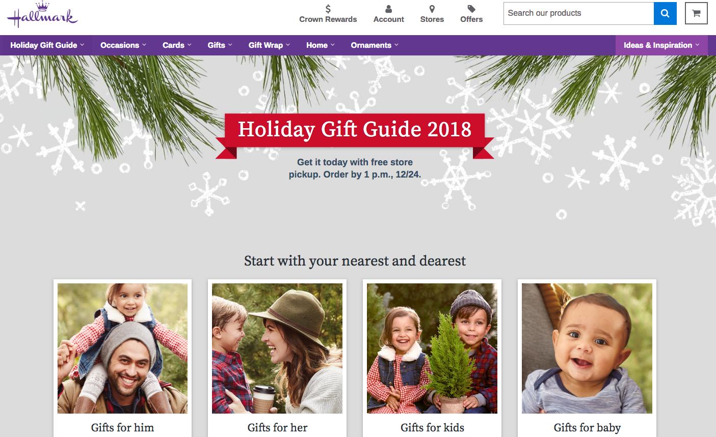 Hallmark Gift Guide