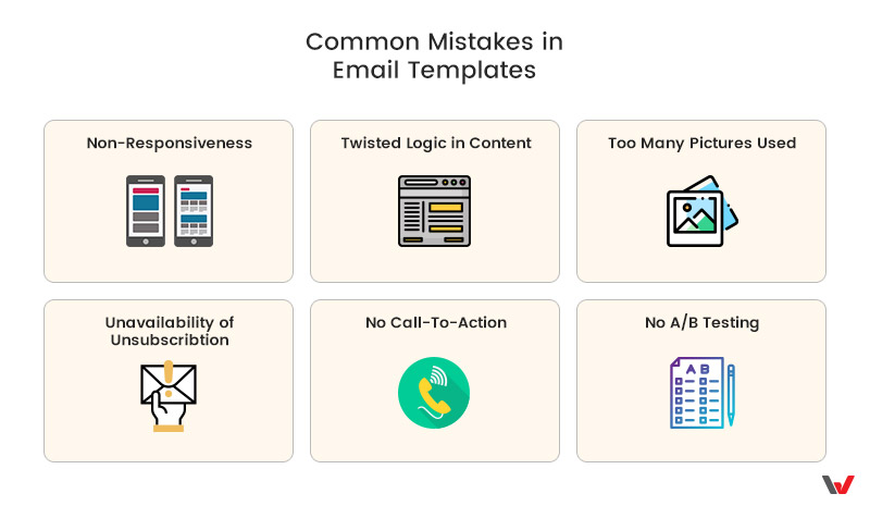 Common Mistakes in Email Templates