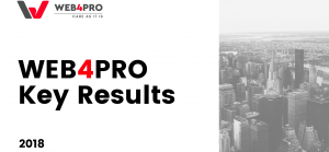 WEB4PRO Key Results of 2018