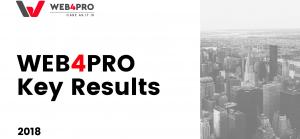 WEB4PRO's key results