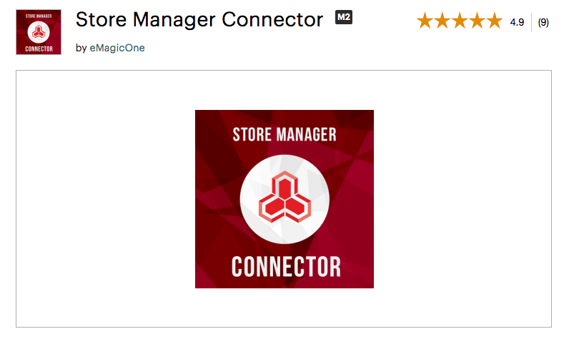 Store Manager Connector by eMagicOne