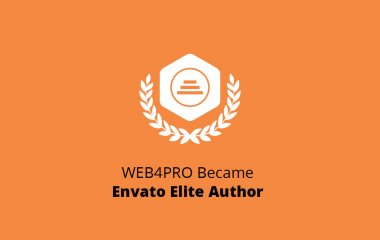 WEB4PRO Became Envato Elite Author
