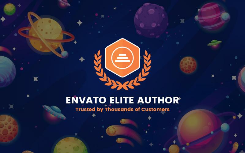 Envato Elite Author Badge