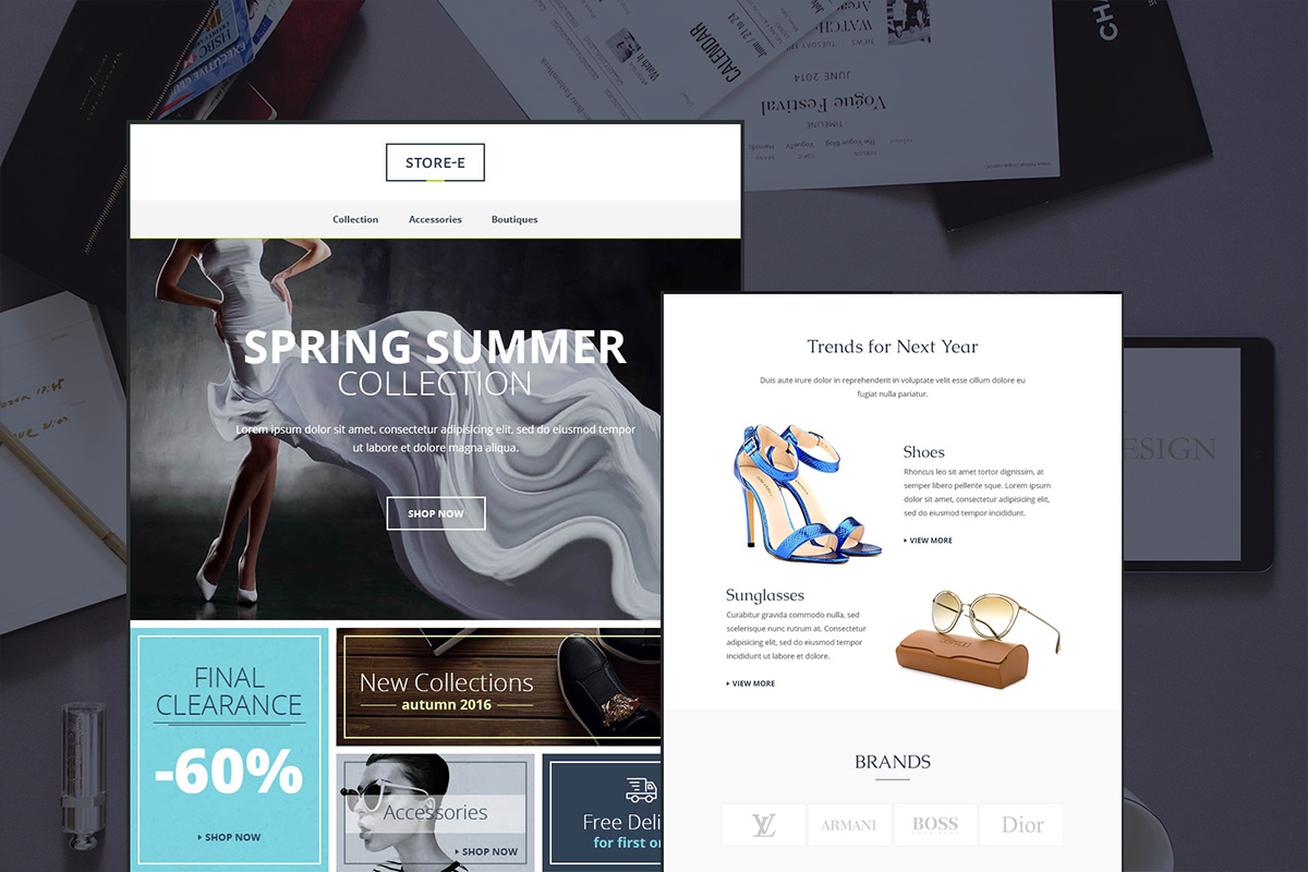Store-e Email Template