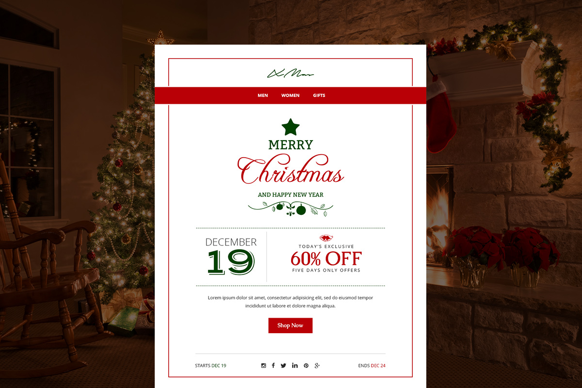 X-Mas Email Template