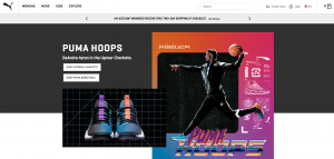 Puma US Main Page