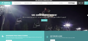 Boreal Mountain Resort Main Page