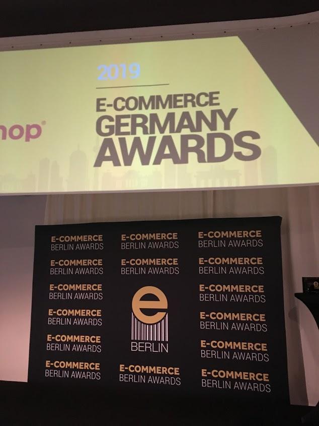 E-commerce Germany Awards Banner