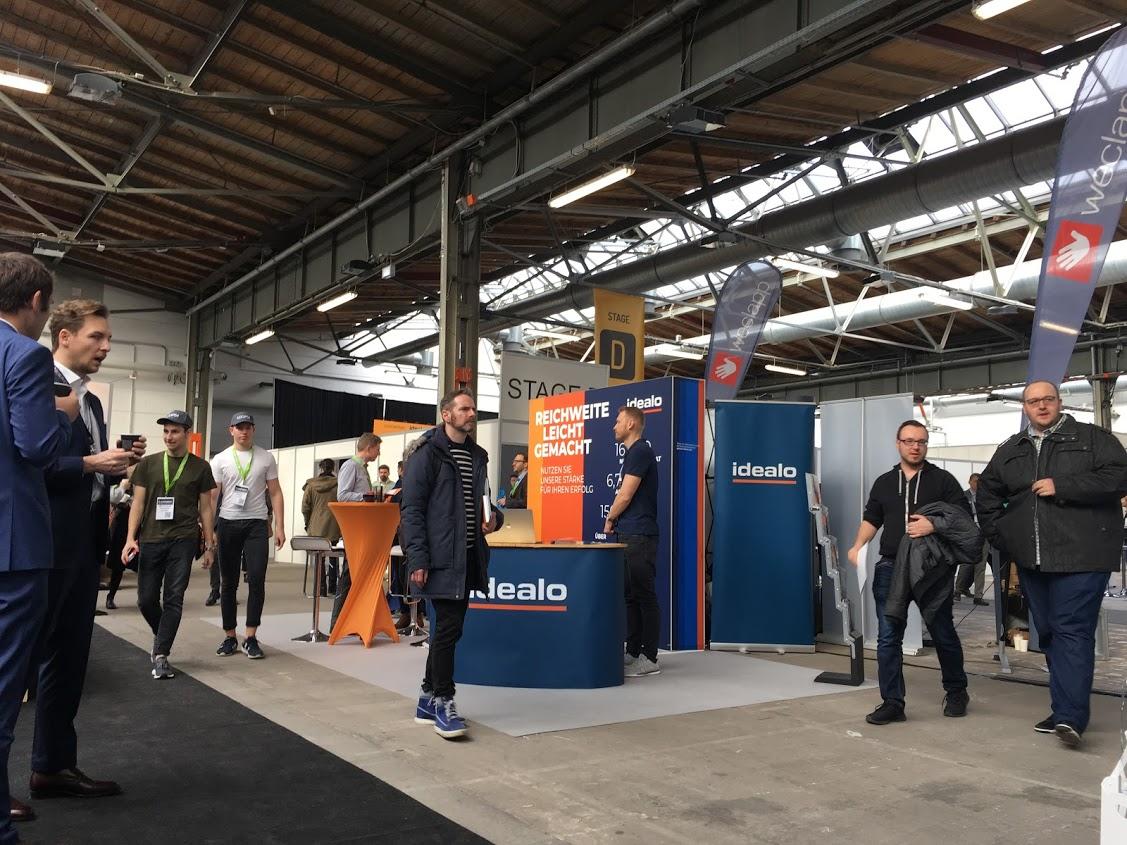 E-commerce Berlin EXPO Exhibition's Area