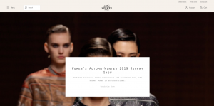 Hermès Home Page