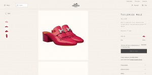 Hermes Product Page