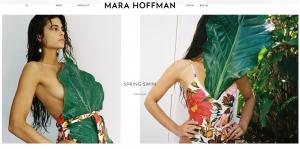 Mara Hoffman Homepage