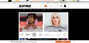 Zumiez Homepage