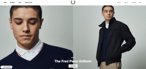 Fred Perry Homepage