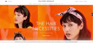 Oliver Bonas Homepage Banner