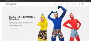 Björn Borg Homepage