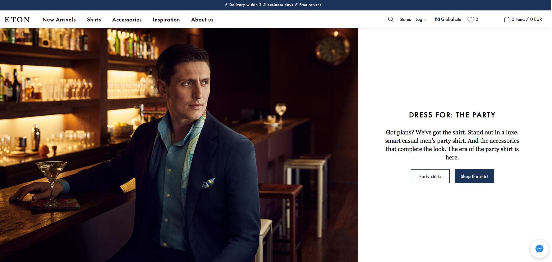 Eton Homepage