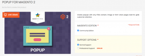Popup for Magento 2 by Magesolution