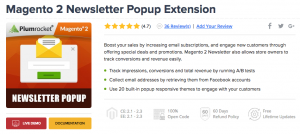 Magento 2 Newsletter Popup Extension by Plumrocket