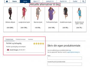 Similar Items and Reviews Block