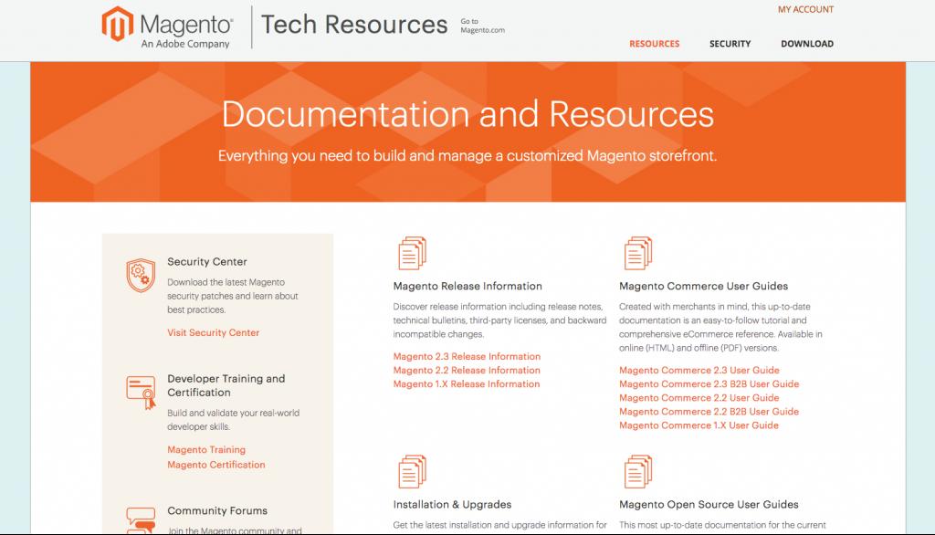 Magento Tech Resources