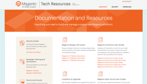 Magento Tech Resources