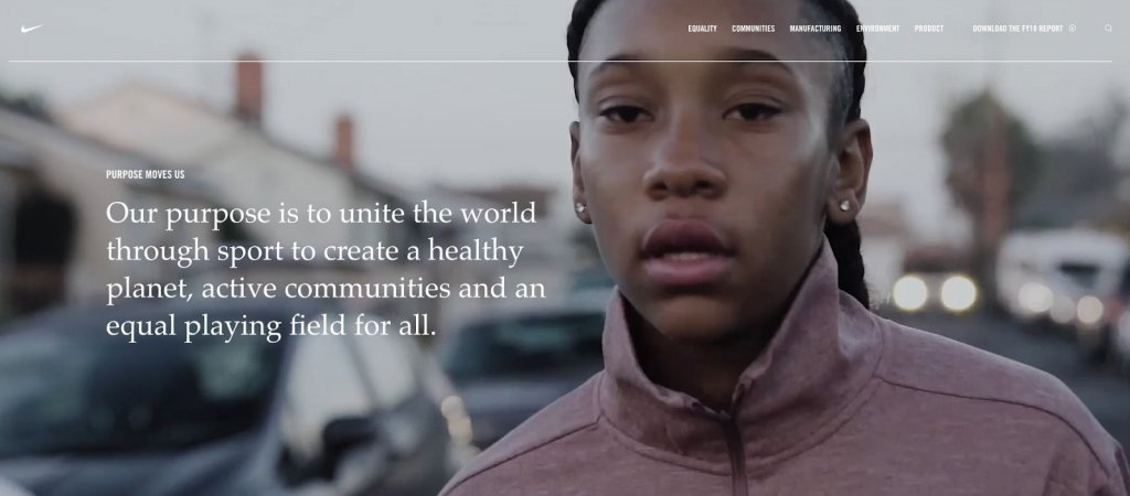 Nike's Sustainability Plan