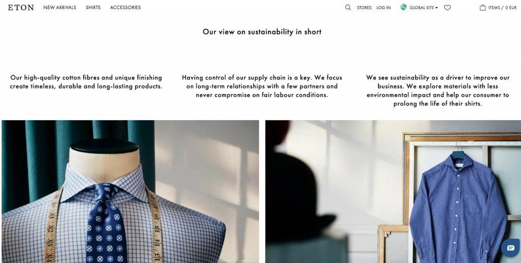 ETON Sustainability