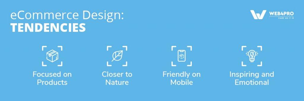 eCommerce Design Tendencies