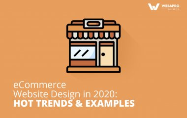eCommerce website design 2020